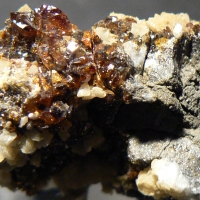 Sphalerite Dolomite Baryte & Pyrite