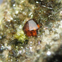 Humite & Diopside