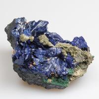 Azurite & Olivenite