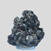 Stephanite Fluorite & Argentopyrite