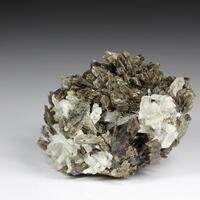 Axinite With Quartz