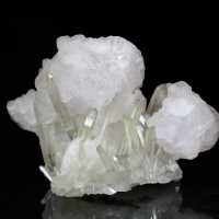 Calcite On Quartz