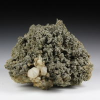 Hedenbergite With Quartz