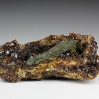 Prase With Andradite