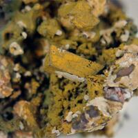 Cerussite Anglesite & Goethite
