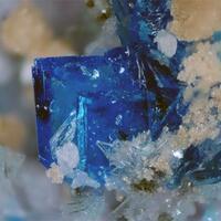 Chalcanthite Rhomboclase Coquimbite Szomolnokite & Voltaite
