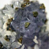 Fluorite Chalcopyrite Quartz & Calcite