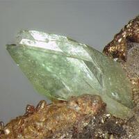 Ludlamite & Pyrite