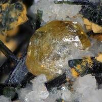 Titanite Ferro-actinolite & Albite