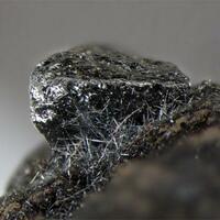 Freibergite Sphalerite & Stibnite