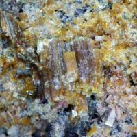 Arsenuranospathite & Ianthinite Psm Schoepite