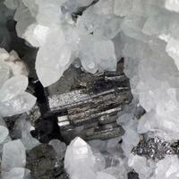 Bournonite Tetrahedrite Sphalerite & Quartz