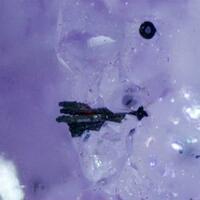Calcite Amethyst & Hematite