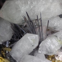 Cosalite Chalcopyrite Sphalerite & Quartz