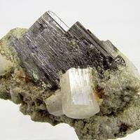 Ferberite & Fluorapatite