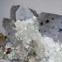 Kulanite Lazulite Quartz Augelite & Fluorapatite