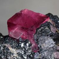 Rhodochrosite & Tetrahedrite