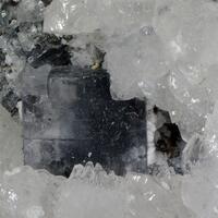 Fluorite Calcite & Bournonite