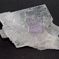 Fluorite On Celestine