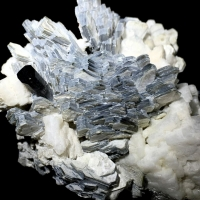 Schorl With Mica