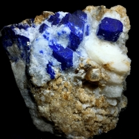 Lazurite With Mica
