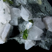 Titanite With Calcite