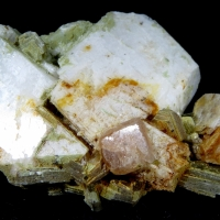 Fluorapatite With Mica
