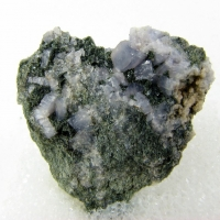 Lawsonite & Actinolite