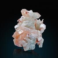 Stilbite Heulandite Apophyllite & Quartz