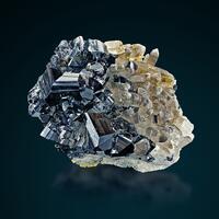Cassiterite With Quartz