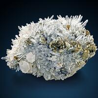 Quartz Pyrite Calcite & Sphalerite
