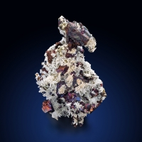 Chalcopyrite With Pyrite & Quartz
