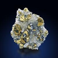 Tetrahedrite On Chalcopyrite & Quartz