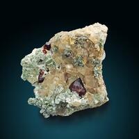 Clinohumite On Calcite