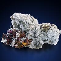 Chalcopyrite With Pyrite & Quartz