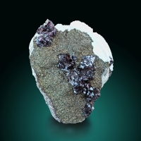 Sphalerite With Marcasite & Baryte
