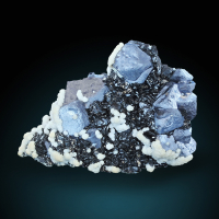 Galena With Sphalerite & Dolomite