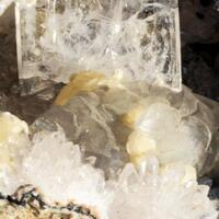 Yugawaralite With Gyrolite Calcite Okenite & Quartz