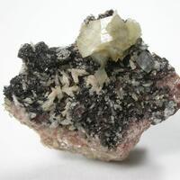 Calcite Baryte & Goethite
