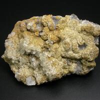 Siderite & Calcite On Fluorite