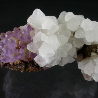 Amethyst Calcite & Siderite