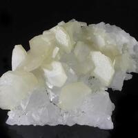 Calcite On Quartz