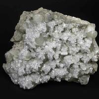 Harmotome On Calcite