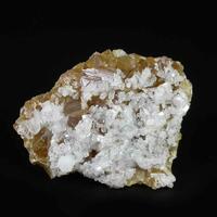Harmotome & Baryte On Calcite