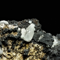 Hausmannite With Baryte