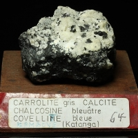 Carrollite With Chalcocite