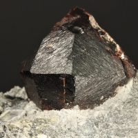 Almandine With Arfvedsonite