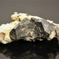 Steenstrupine-(Ce) On Sodalite