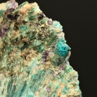 Cyprine With Fluorite
