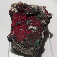 Chalcotrichite & Malachite